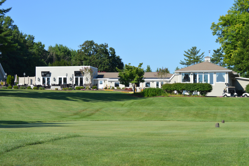 The Clubhouse of Montgomery Country Club